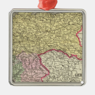 Prussia, German States Silver-Colored Square Decoration