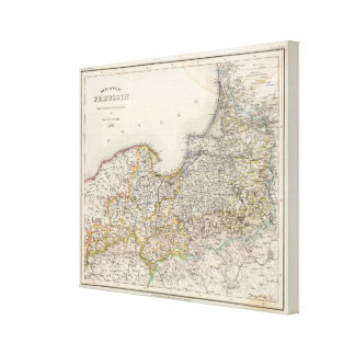 Prussia, Germany,  Poland 3 Canvas Print