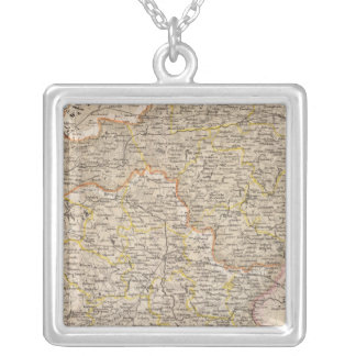 Prussia, Germany,  Poland 3 Silver Plated Necklace