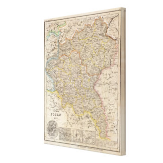 Prussia, Germany,  Poland 4 Canvas Print