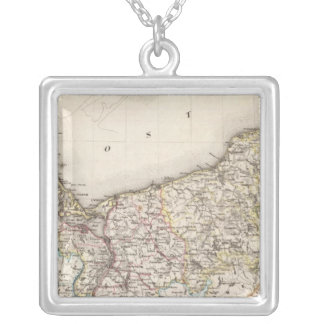 Prussia, Germany,  Poland 4 Silver Plated Necklace