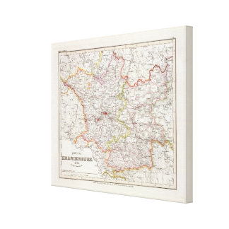 Prussia, Germany,  Poland Canvas Print