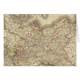 Prussia, Germany, Poland Card