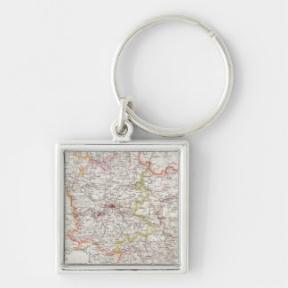 Prussia, Germany,  Poland Key Ring
