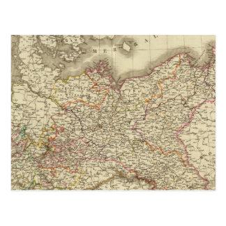 Prussia, Germany, Poland Postcard