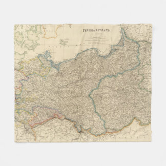 Prussia, Poland Fleece Blanket