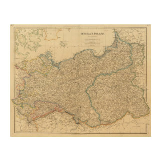 Prussia, Poland Wood Canvas
