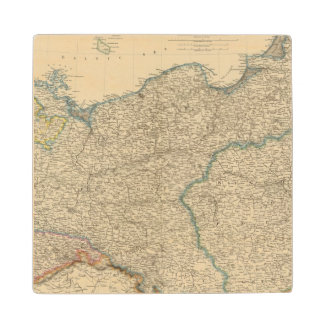 Prussia, Poland Wood Coaster