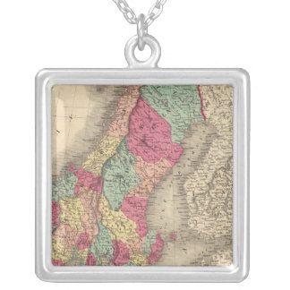 Prussia Sweden Norway and Denmark Silver Plated Necklace