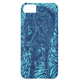 Prussian Blue Buford Case For iPhone 5C