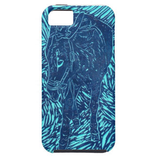 Prussian Blue Buford iPhone 5 Cases