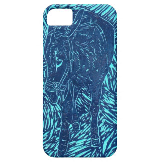Prussian Blue Buford iPhone 5 Cover