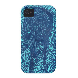 Prussian Blue Buford Vibe iPhone 4 Covers
