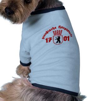 Prussian capital pet shirt