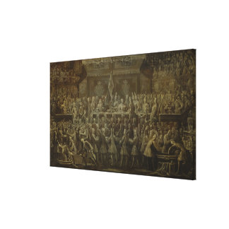 Prussian Coronation Dinner for Frederick I, 1701 Canvas Print