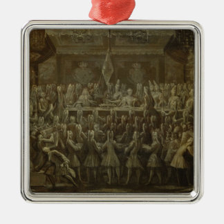 Prussian Coronation Dinner for Frederick I, 1701 Christmas Ornament