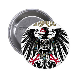 Prussian Eagle 6 Cm Round Badge