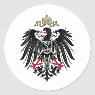 Prussian Eagle Classic Round Sticker