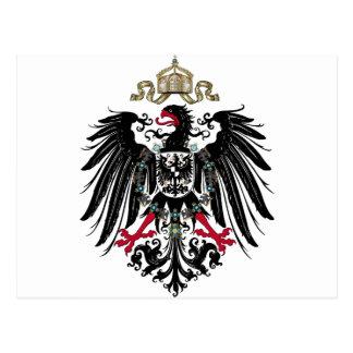 Prussian Eagle Postcard