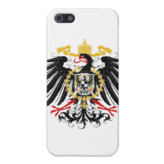 Prussian Eagle Red Black and Gold iPhone 5/5S Cases