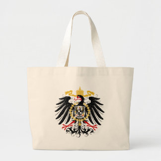 Prussian Eagle Red Black and Gold Jumbo Tote Bag