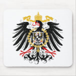 Prussian Eagle Red Black and Gold Mousepads