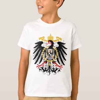 Prussian Eagle Red Black and Gold T-Shirt