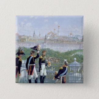 Prussian King Friedrich Wilhelm II 15 Cm Square Badge