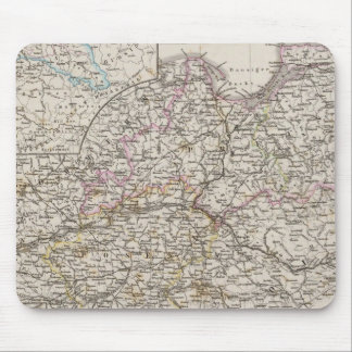 Prussian Provinces Mouse Mat