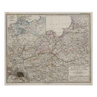 Prussian Provinces Poster