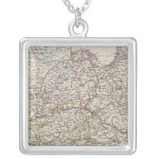 Prussian Provinces Silver Plated Necklace