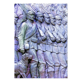 Prussian Soldiers,Marching (5) Business Card Template