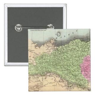 Prussian States 2 15 Cm Square Badge
