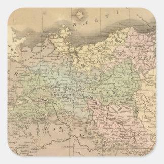 Prussian States Square Sticker