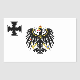 Prussian War Flag Rectangular Sticker