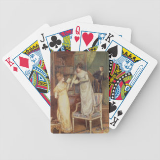 Prying Eyes, 1901 (w/c heightened with white) Poker Deck