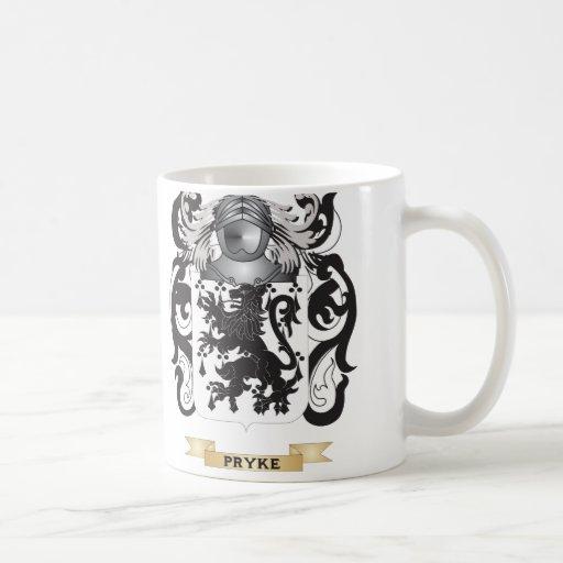 Pryke Coat of Arms (Family Crest) Mug