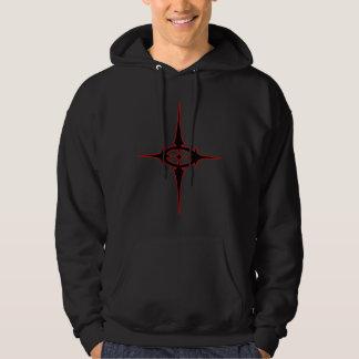 Prylosis black hooded sweatshirt
