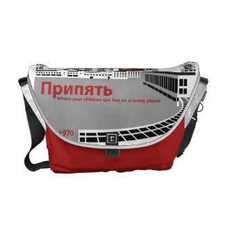 Prypyat Propaganda style Commuter Bag