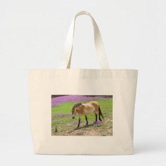 Przewalski Horse Tote Bags