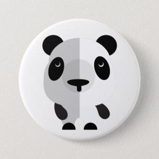 ps059 cute panda 7.5 cm round badge