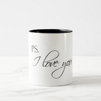 ps. I love you Two-Tone Mug