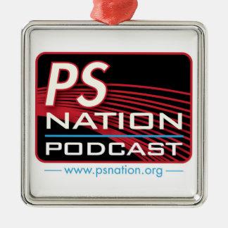 PS Nation - Logo Ornament