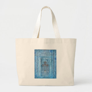 Psalm 118 14 Encouraging Bible Verse Tote Bag