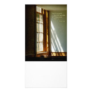 Psalm 118 24 This is the day which the LORD hath m Photo Greeting Card