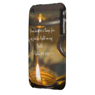 Psalm 119:105 Case Mate Case-Mate iPhone 3 Case