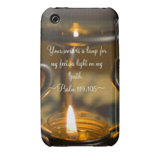 Psalm 119:105 Case Mate iPhone 3 Cases