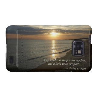 Psalm 119 105 Thy word is a lamp Samsung Galaxy S2 Cases