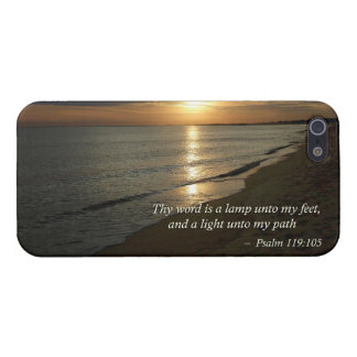 Psalm 119:105 Thy word is a lamp Covers For iPhone 5
