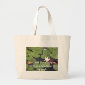 Psalm 119 Your word is a lamp to my feet Bags